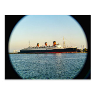 Queen Mary Postcard