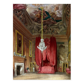 Queen Mary s State Bed Chamber Hampton Court Postcard