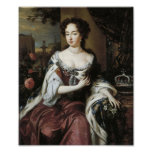 Queen Mary Stuart II of England Print