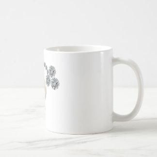 Queen Mary's Three Leaf Clover Bar Brooch Coffee Mug