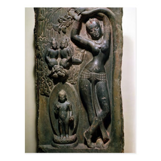 Queen Maya giving birth to the future Buddha Postcard
