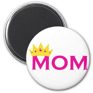 Queen Mom 2 Inch Round Magnet