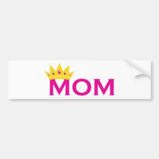 Queen Mom Bumper Sticker