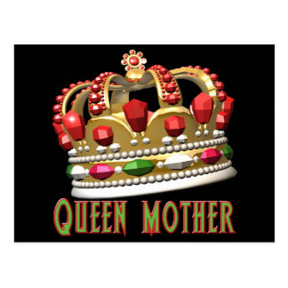 Queen Mother T-shirts and Gifts For Her Postcard