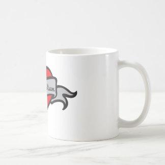 queen mum coffee mug