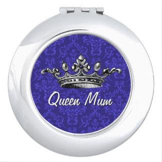 Queen Mum Vintage Crown Compact Mirror