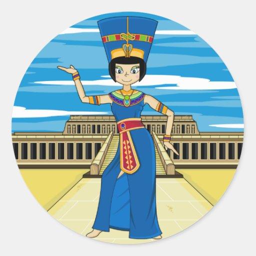 Queen Nefertiti at Hatshepsut Sticker