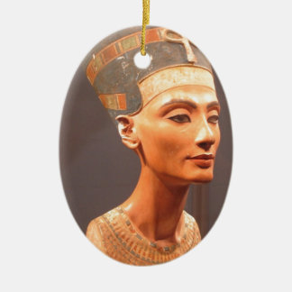 Queen Nefertiti Ceramic Ornament
