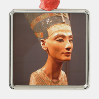 Queen Nefertiti Metal Ornament