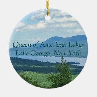 Queen of American Lakes Ceramic Ornament