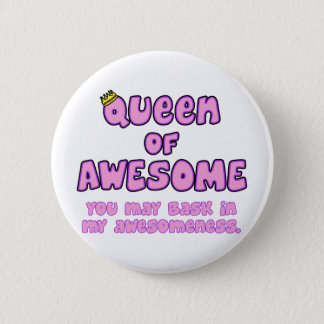 Queen of Awesome Button