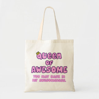 Queen of Awesome Tote Bag