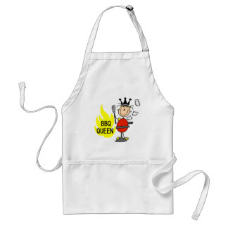 Queen of Barbequeing Adult Apron