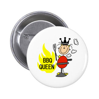 Queen of Barbequeing Buttons