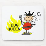 Queen of Barbequeing Mouse Pad