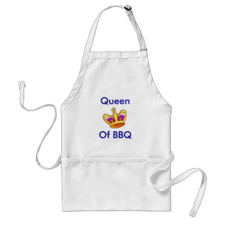 Queen Of BBQ Adult Apron