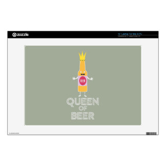 Queen of Beer Zh80k Decals For Laptops