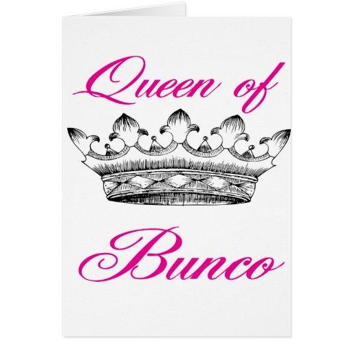 queen of bunco card