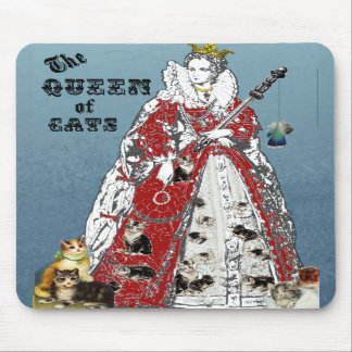 Queen of Cats Mousepad