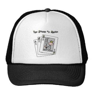 Queen of Chemo Brain Cancer / Tumor Trucker Hat