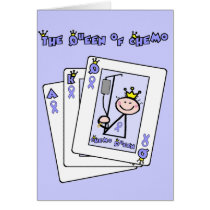 Queen of Chemo Card