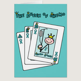 Queen of Chemo - Cervical Cancer Card