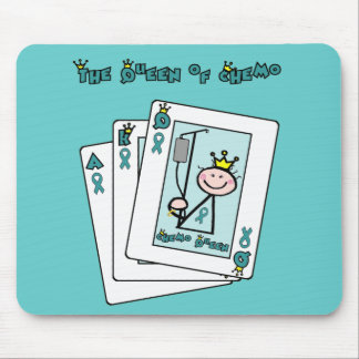 Queen of Chemo - Cervical Cancer Mouse Pad