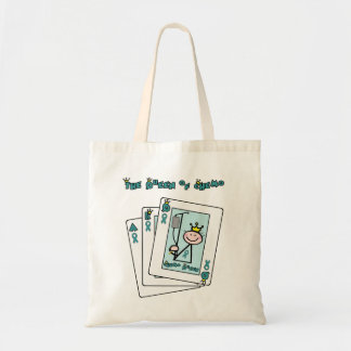 Queen of Chemo - Cervical Cancer Tote Bag