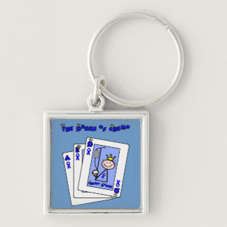 Queen of Chemo - Colon Cancer Keychain