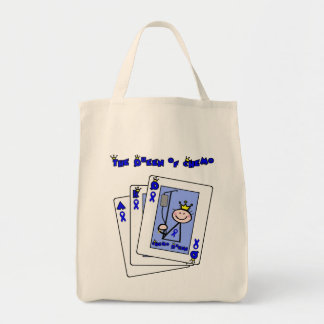 Queen of Chemo - Colon Cancer Tote Bag