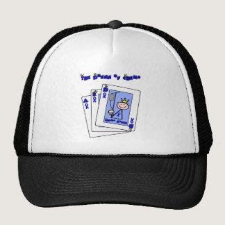 Queen of Chemo - Colon Cancer Trucker Hat