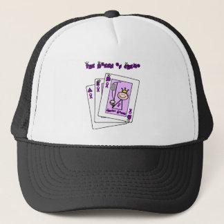 Queen of Chemo Hodgkins Lymphoma Trucker Hat