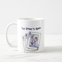 Queen of Chemo - Lavender Ribbon General Cancer Coffee Mug