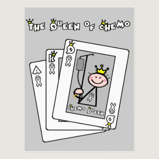 Queen of Chemo Postcard