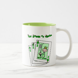 Queen of Chemo Two-Tone Coffee Mug