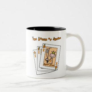 Queen of Chemo Two-Tone Coffee Mug