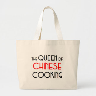 Queen of Chinese cooking Large Tote Bag