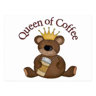 Queen Of Coffee Postcard