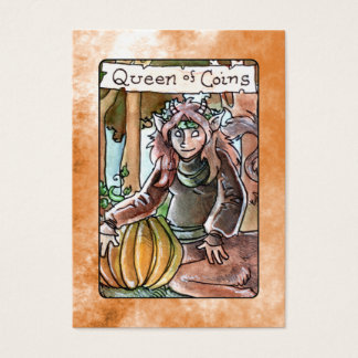 Queen of Coins Business Card