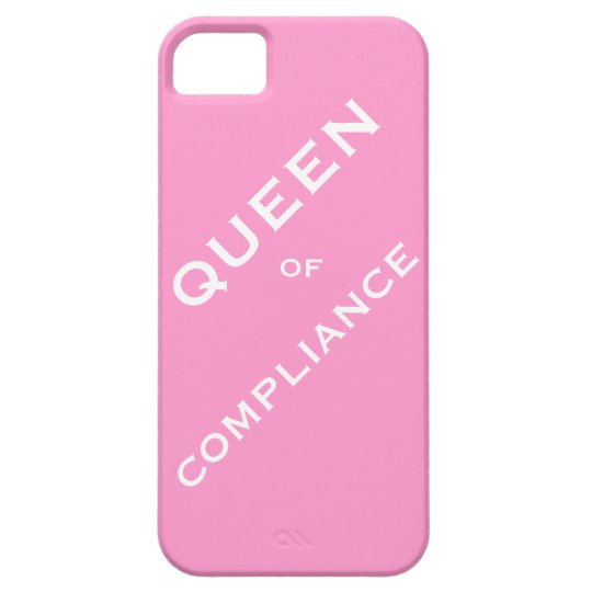 Queen of Compliance Woman Compliance Officer iPhone SE/5/5s Case
