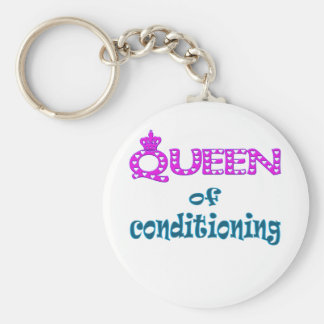 Queen of Conditioning Keychain