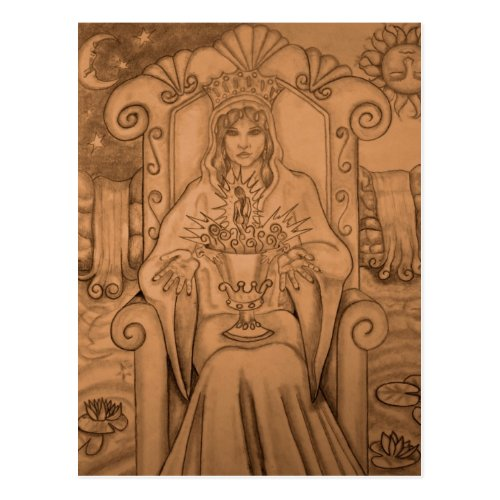 Queen Of Cups _ Tarot Card