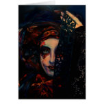 Queen of Darkness Greeting Card