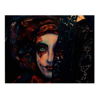 Queen of Darkness Postcard