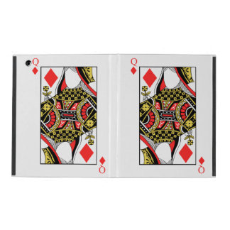 Queen of Diamonds - Add Your Image iPad Case