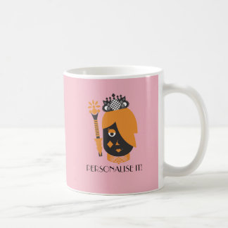 Queen of Diamonds Coffee Mug