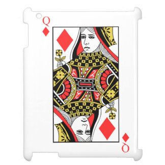 Queen of Diamonds Cover For The iPad