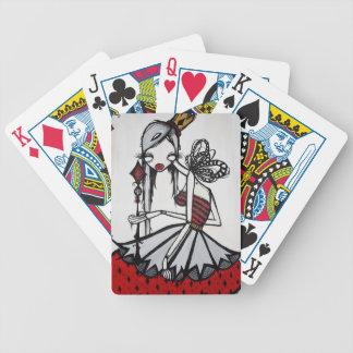 Queen of Diamonds Deck of Cards