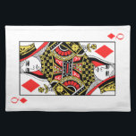 """Queen of Diamonds Placemat<br><div class=""""desc"""">Search &quot;wowsmiley&quot; for more products like this one.</div>"""