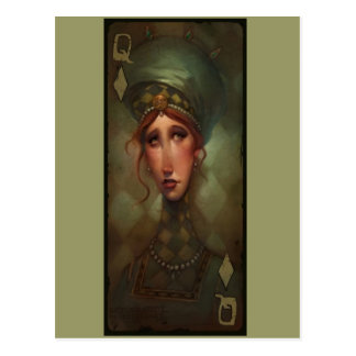 Queen of Diamonds Post Card